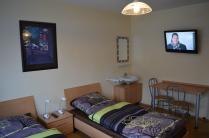 Die Pension Kirchblick bietet 7 Zimmer und eine Appartment.