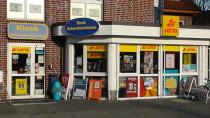 Für den kleinen Bedarf, Kiosk direkt um die Ecke.